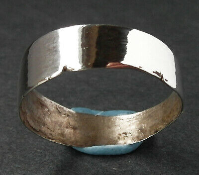 GENUINE SILVER MEDIEVAL RING - wearable