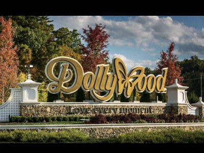 (2) Dollywood Park Tickets and two night stay at Norma dan motel Expire 8-31-20