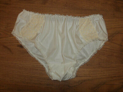 Vintage 1950s/60s Silky Sheer Nylon Frilly Lacy Babydoll Panties Knickers S