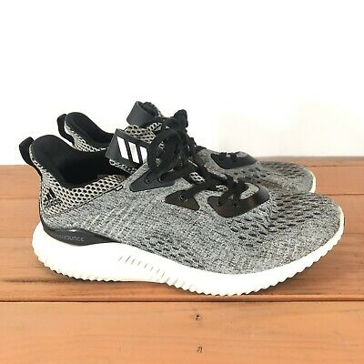 Adidas Alphabounce EM J Black//Grey Youth Size 6Y Running Shoes Sneaker BW0579