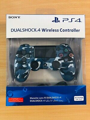 Sony PlayStation DualShock 4 Wireless Controller - Camouflage Blue