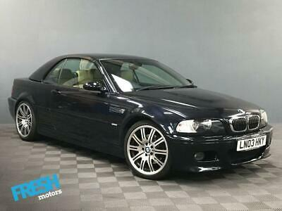 2003 BMW M3 3.2 M3 SMG CONVERTIBLE Convertible Petrol Manual