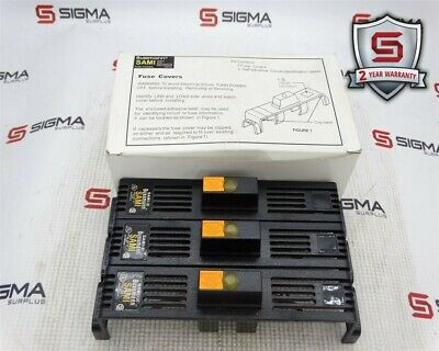 Bussmann SAMI-3I Fuse Cover Indicating For Class J 600V 65-100A *Box of 3*