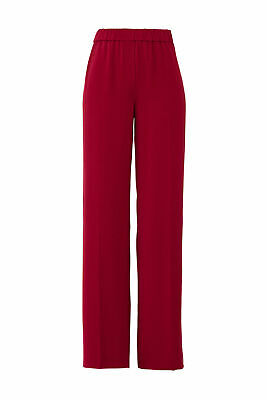 Elizabeth and James Women Pants Red White Size XS Colorblock Stretch $335- #497