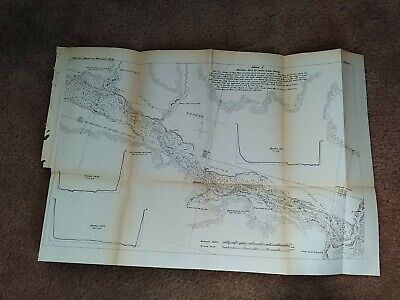 1867 MS River Independence Lone Rock Dead Man's Slough Spring Green Richland Map