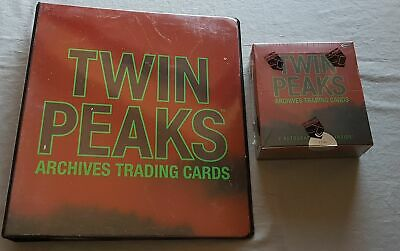 Set Rittenhouse Twin Peaks Archives Trading Cards Box + Album Limited
