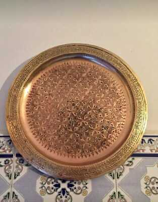 Old copper tray (used)