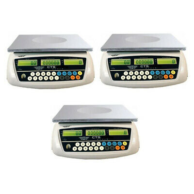 My Weigh CTS-6000 Digital Counting Scale (3-Pack)