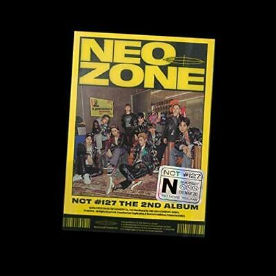 NCT 127 - NCT #127 Neo Zone [N ver.] (Vol.2) Album+1p Poster(On)+Tracking Number