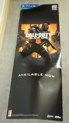 PS4 Call of Duty Black ops 4 IIII  Standee promo Shop display  5ft totem