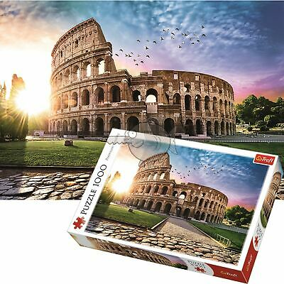 Trefl 1000 Piece Jigsaw Puzzle Sun Drenched Colosseum