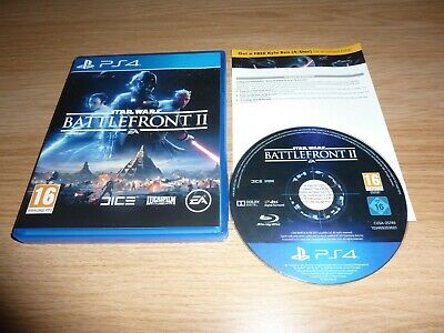 Star Wars Battlefront Ii ( 2 ) Playstation 4 Ps4 Game