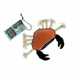 Carlos the Crab (Green and Wilds Eco, Natural, Dog Toy)
