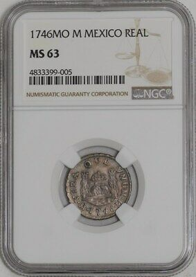 1746 MO M Mexico Real MS63 NGC  939447-25