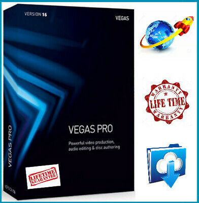 SONY VEGAS PRO 15 - Windows Video Editing Software - Lifetime activation
