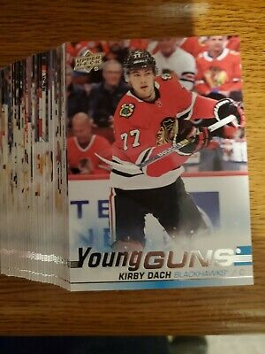 2019-20 Upper Deck Series 2 Young Guns Set Makar Kakko Dach Suzuki #451-500