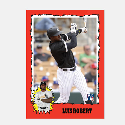 2020 Topps Throwback Thursday Set 12 TBT #68 LUIS ROBERT RC White Sox Rookie
