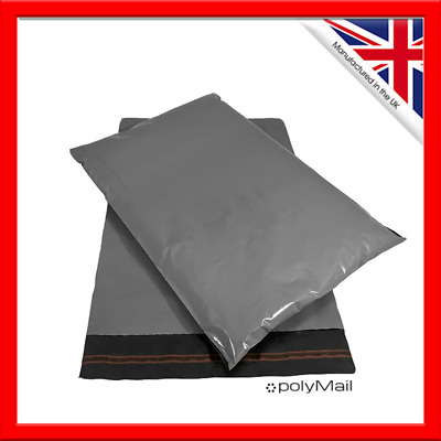 POLYMAIL - Cheap Mailing Bags Grey All Sizes Poly-Postal Cheapest On eBay