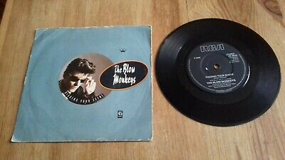 "Digging Your Scene by The Blow Monkeys 7"" Single in a Picture Sleeve"