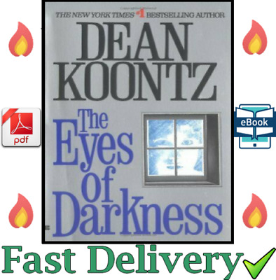 The Eyes Of Darkness 1981 novel By Dean Koontz Virus Outbreak 😷 ✅ 💥5SEC
