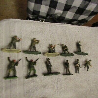 Unimax Britains Super Detail Mixed Lot 54mm WW2 US Army Infantry Soldiers Set 11