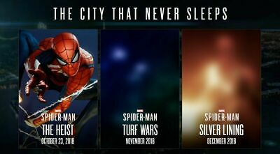 Spider-Man PS4 DLC The City that Never Sleeps- Item will be posted NOT EMAILED