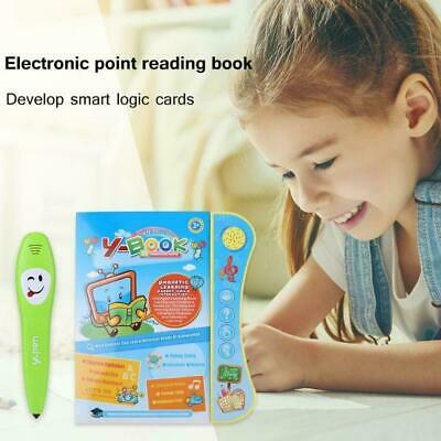Interactive Books Toddler Educational Learning Toys For 3+ Year Old Kid Children