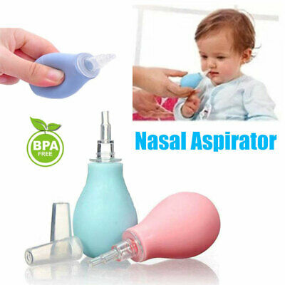 Silicone Baby Kids Nasal Aspirator Infant Vacuum Nose Suction Toddler Cleaner AU