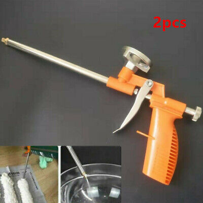 2pcs Professional PU Expanding Foam Gun Applicator Application Easy Clean