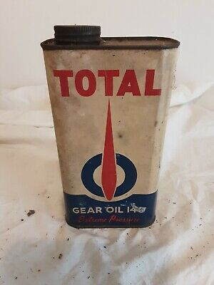 Total 1 Quart Gear Oil Tin