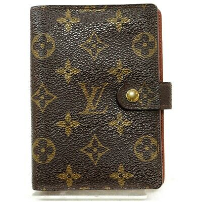 Louis Vuitton Diary Cover R20005 Agenda PM Browns Monogram 817413