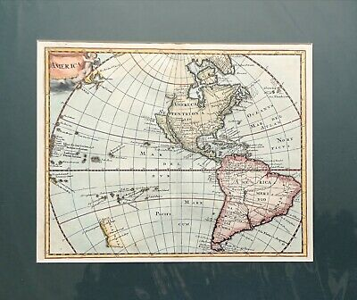 1697 Map of the Americas