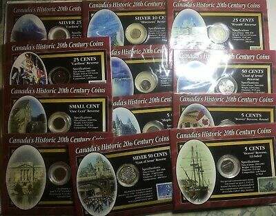 Canada's Historic 20th Century Coins