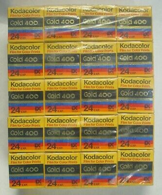 20 Rolls Kodak Kodacolor Gold 400 24 Exp. GC 135-24 Expired 1993