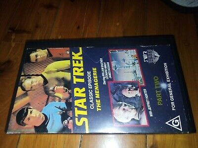 Star Trek VHS Classic collectors Video Tape Retro Collectables