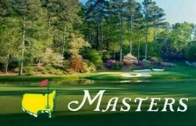 2020 Masters Golf - (4)FULL DAY Badges - THURSDAY - SUNDAY Four Days Of Action!