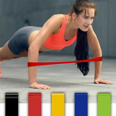 *NEW* RESISTANCE BANDS LOOP SINGLES - Home Workout Exercise Glutes Yoga Pilates