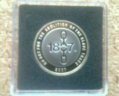 2007 Proof Abolition Of The Slave Trade £2 Two Pound Coin From Royal Mint Set