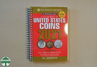 2021 SPIRAL REDBOOK - OFFICIAL PRICE GUIDE FOR U.S. COINS - 74th EDITION-