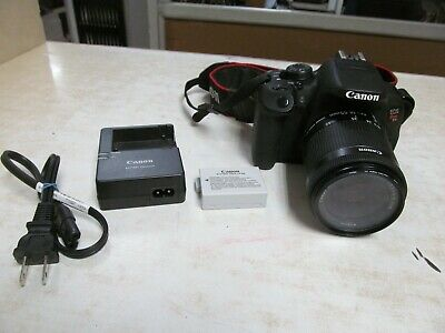 Canon EOS Rebel T5i 18.0MP Digital SLR Camera - Black (Kit w/ IS STM 18-55mm...