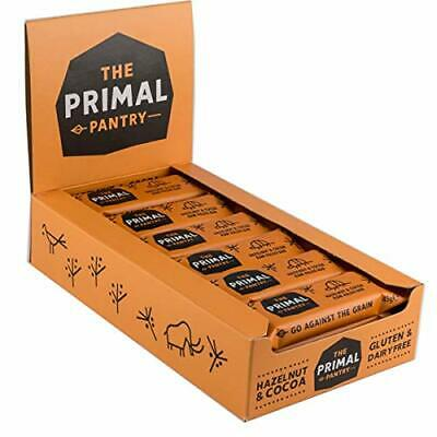 The Primal Pantry Veganer Paleo Riegel Haselnuss & Kakao, 18er Pack (18 x 45...