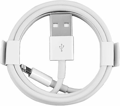 USB 8 Pin Lightning Data Charger Cable Cord For Apple iPhone iPad iPod 1M / 3FT