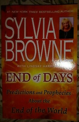 Sylvia Browne End Of Days  Predictions  and Prophecies Paperback