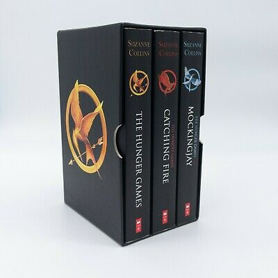Complete Boxset Collectible The Hunger Games Trilogy Books Collins Suzanne EUC