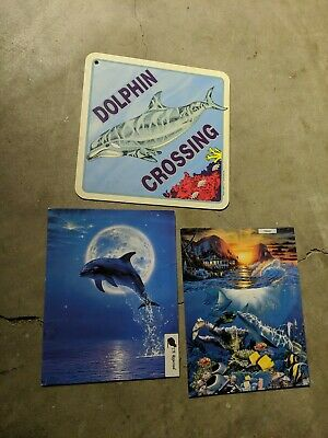 Vintage Dolphin Lot of 3
