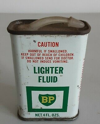 BP Lighter Fluid 4 oz Tin