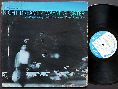WAYNE SHORTER Night Dreamer LP BLUE NOTE BLP 4173 US 1964 NY MONO Lee Morgan