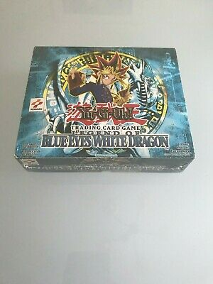 English Yugioh Legend of Blue Eyes 24 Booster Packs = Box Quantity Unsearched