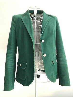 Grüner Blazer in Cord (Damen) Gr. 36 - Brooks Brothers