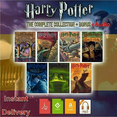 Harry Potter books Complete Collection With Audio
